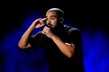 """Drake Shares Clip Of Himself Recording """"Feel No Ways"""" In The Studio"""