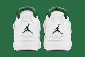 "Air Jordan 4 ""Metallic Green"" Release Info Confirmed: Photos"