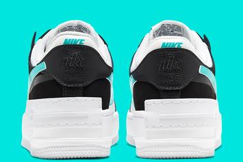 "Nike Air Force 1 Low Shadow Gets ""Diamond"" Treatment: Photos"