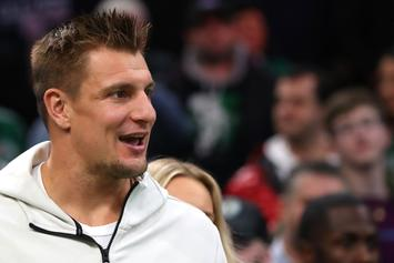 Rob Gronkowski Has Hilarious Thoughts About WWE Title Defense