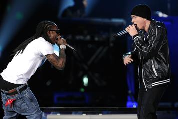 "Eminem Names Lil Wayne On ""Mona Lisa"" As ""Top Five Verses Of All Time"""