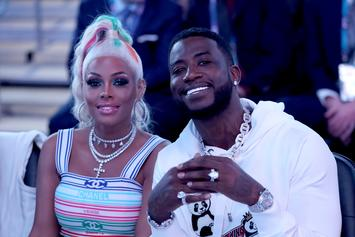 Gucci Mane Gifts Wife Keyshia Ka'oir Iced Out 1017 Chain For Anniversary
