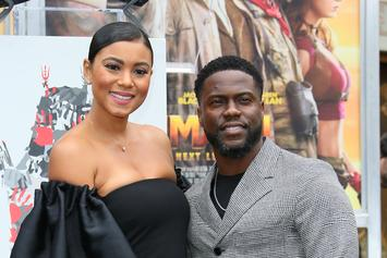 "Kevin Hart & Pregnant Wife Eniko Recreate Hilarious Break-Up Scene From ""Martin"""