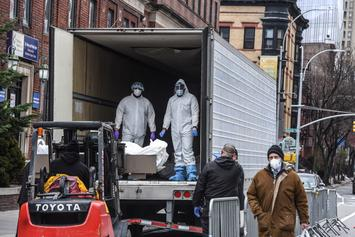 FDA Says Food Trucks Used To Store COVID-19 Bodies Can Still Be Used Afterward