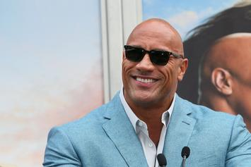 "Dwayne ""The Rock"" Johnson Praises Daughter For WWE Signing"