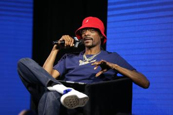 """Snoop Dogg Eases Stress With """"Frozen"""" Song, Idina Menzel Responds"""