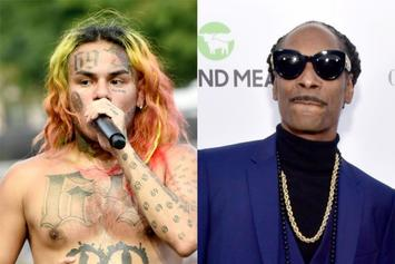 Tekashi 6ix9ine Accused Of Violating Parole With Snoop Dogg Snitch Post