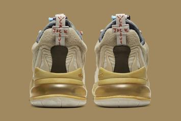 Travis Scott x Nike Air Max 270 React Official Images Revealed