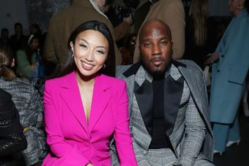 "Jeezy & Jeannie Mai Lip-Sync New Edition's ""Can You Stand The Rain"""