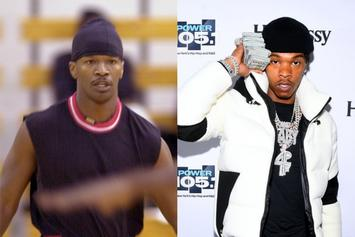 Everyone Thinks This Old Photo Of Jamie Foxx Is Actually Lil Baby