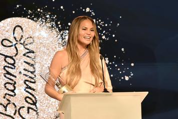 "Chrissy Teigen Mourns Her Breast Implants Post-Surgery With ""RIP"" Boob Cake"