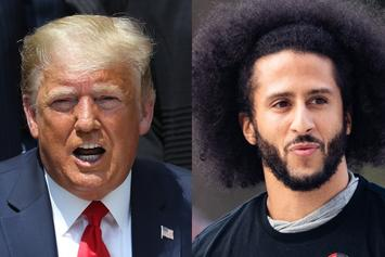 "Trump Says He ""Absolutely""  Would Support Kaepernick's Return To NFL"