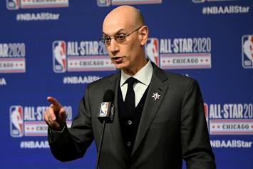 Adam Silver Changes NBA Policy On Bubble City Policing