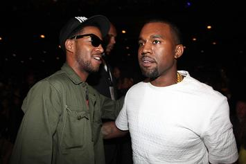 Kid Cudi Sneaks A Video Of Kanye West Gaming