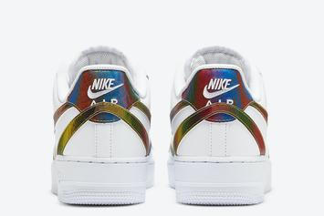 Nike Air Force 1 Low With Multiple Swooshes Drops Soon: Photos