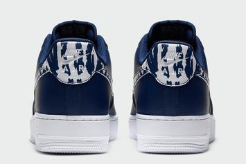 "Nike Air Force 1 Low ""Navy Camo"" Coming Soon: Photos"