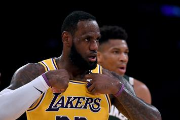 LeBron James Opts Not To Wear Social Justice Message On Jersey