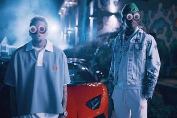 "Chris Brown & Young Thug Host Electrifying Party In ""Go Crazy"""