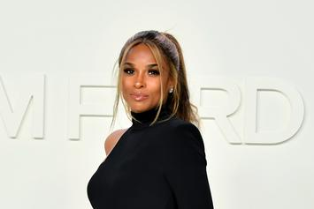 Ciara Holds Her Very Pregnant Belly Underwater In Gorgeous Shot
