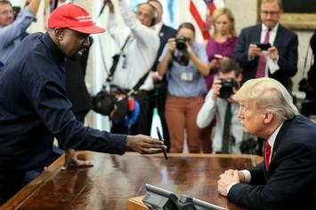 Kanye West Says Trump Would Be His First Pick For VP