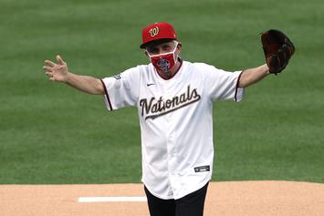 Dr. Anthony Fauci Delivers Horrendous First Pitch At Nationals Game