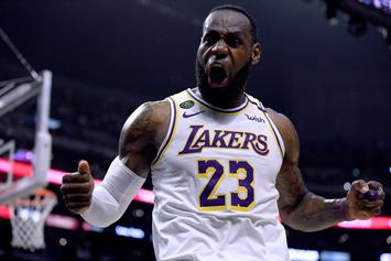 LeBron James Disses Michael Carter-Williams During Lakers Scrimmage