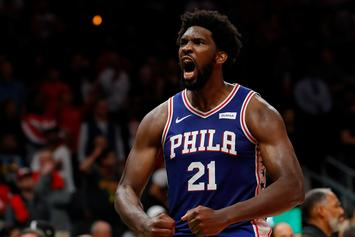 Joel Embiid Ruled Out In 76ers' Scrimmage Due To Calf Issue