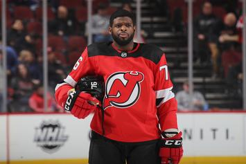 P.K. Subban Enlists The Rock For Intense Workout Session