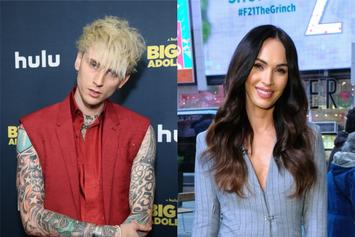 """Machine Gun Kelly Swoons Over Megan Fox: """"Waited For Eternity To Find You Again"""""""