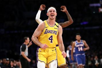 Alex Caruso Speaks On LeBron James' NBA Bubble Living Situation