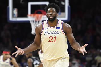 Joel Embiid & Under Armour Link Up With Mountain Dew For New Shoe