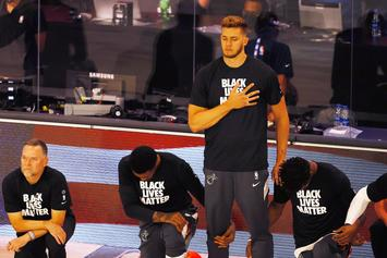 "Heat's Meyers Leonard Stands For Anthem: ""My Patriotism Runs Deep"""