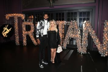 "Khloe Kardashian ""Beyond Happy"" Getting Back With Tristan Thompson: Report"