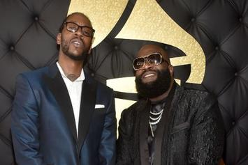 "Rick Ross Shares Unreleased ""Famous"" Verse During ""Verzuz"" With 2 Chainz"