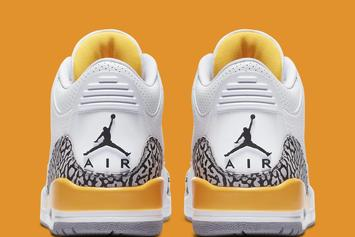 "Air Jordan 3 ""Laser Orange"" Officially Unveiled: Photos"