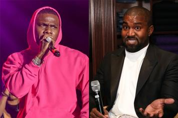 DaBaby Responds To Kanye West's Shout-Out, Says He's Voting For Ye