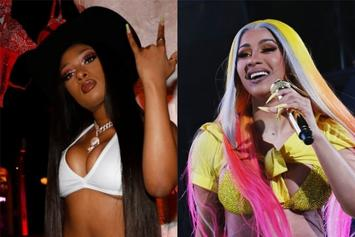 "Cardi B & Megan Thee Stallion ""WAP"" On Pace For #1 Debut, Juice WRLD Poised For Top 10"