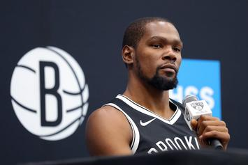 """Kevin Durant Goes 1-On-1 With Drake In """"Laugh Now, Cry Later"""" Video"""