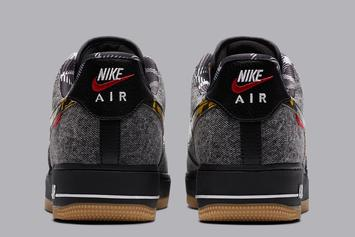 "Nike Air Force 1 Low ""Remix Pack"" Features Denim Upper: Photos"