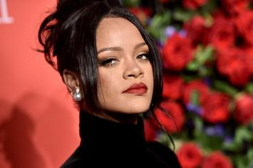 "Rihanna Jokingly Asks Her Look-A-Like ""Where The Album Sis?"""