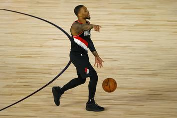 """Damian Lillard Drops """"Live From The Bubble"""" EP, Fans React"""