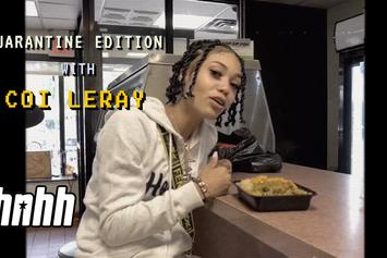 "Coi Leray Hits Up Her Favorite Jamaican Restaurant On ""Snack Review"""