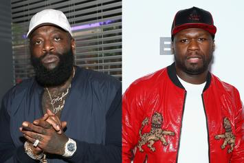 """Rick Ross """"Laughs Last"""" After 50 Cent Loses """"In Da Club"""" Remix Appeal"""