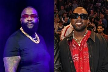 Rick Ross Meets With Kanye West After Warning Him