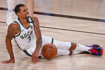 "George Hill Claims He Missed National Anthem To ""Take A Sh*t"""