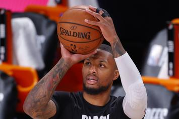 Damian Lillard Reveals He's Going To Have Twins