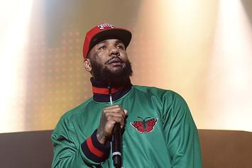 The Game Meets With Jamie Foxx & Marlon Wayans For Chadwick Boseman Tribute