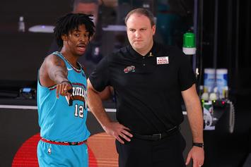 Ja Morant Named NBA Rookie Of The Year