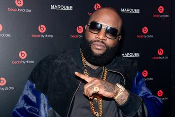 Rick Ross Previews New MMG Face Mask For Smokers