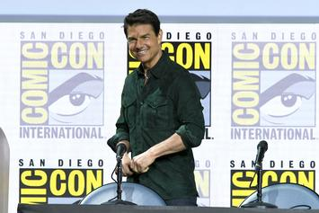 "Tom Cruise Pulls Off Death-Defying Stunt For ""Mission: Impossible 7"""